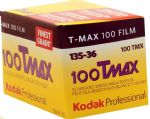 Kodak T-Max 100 iso 36 exposure Black & White Camera Film